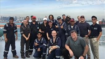 Meet the AMO crew of the Maersk Michigan